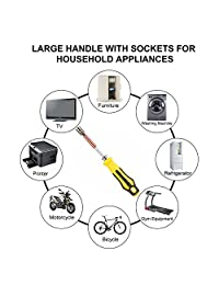 70 en 1 destornilladores de precisión con 65 Bit magnético Destornillador Kit Kit de herramientas de reparación de electrónica para teléfono celular, relojes, PC, Electrodomésticos