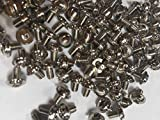 Computer M3x5 Screws 1000pcs for Motherboard, Optical Drive, Solid State, DVD ROM, Bd ROM Carbon Steel Nickel Plated Philips Round Head Screw Accessory Parts