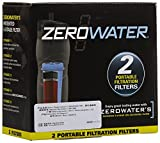 ZeroWater ZR-230 2-Pack Travel Bottle Filters by ZeroWater