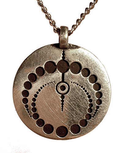 Reversible Crop Circle Pendant