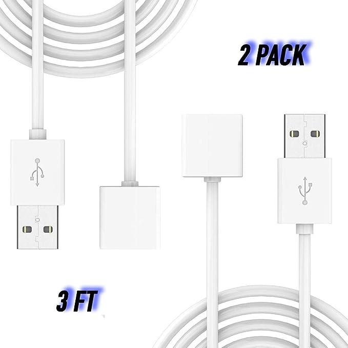 Amazon.com: [original] 2 Pack magnético USB cable cargador ...