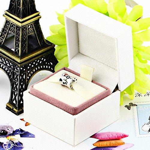 TAOTAOHAS Oxydé Antique Charms Beads Perles, en argent 925/1000 sterling ( aimer, siam lumière ) fit européen Bracelets Charme Breloques Cadeau fête des Mères