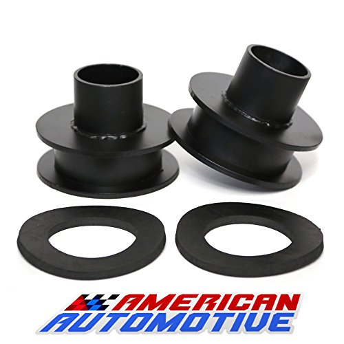 Ford F250 F350 Superduty Front Leveling Lift Kit 4WD Made in USA 'Road Fury' Carbon Steel Coil Spring Spacers (Set of 2) (2.5 Inch)