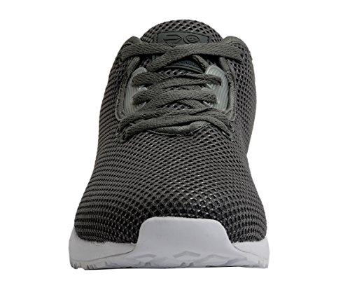 Crosshatch-Sneaker-BEKELE Dunkelgrau