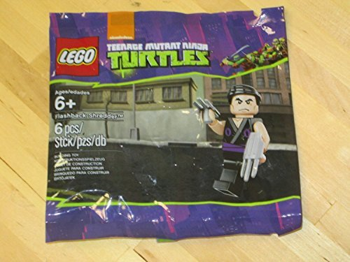 Amazon.com: LEGO 5002127 Tortugas Ninja Flashback Shredder ...