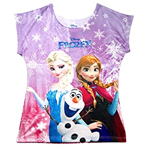 Disney Youth Sublimated Top Frozen Group Sublimated
