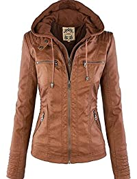 Amazon.com: Browns - Leather & Faux Leather / Coats, Jackets ...