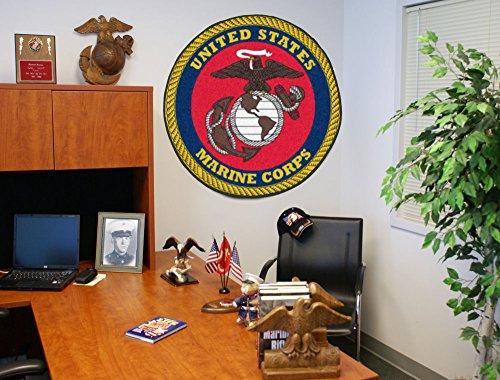 in. Round Mat (Military Floor Mat)