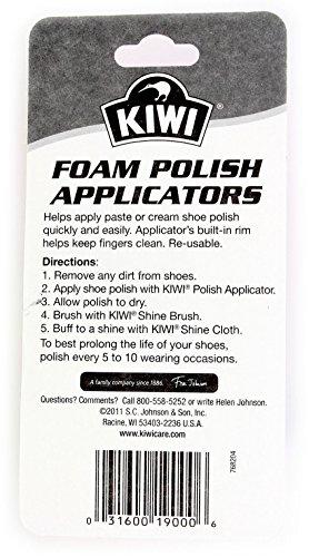 Kiwi Foam Polish Applicators, (Pack of 3 = 6 Total) by Kiwi (Image #1)
