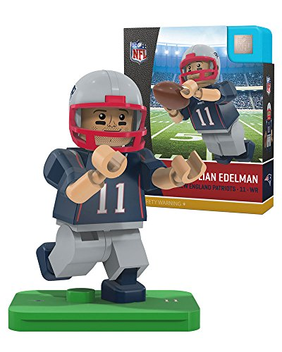 iots Gen4 Limited Edition Julien Edelman Mini Figure, Small, White (New England Patriots Limited Edition Football)