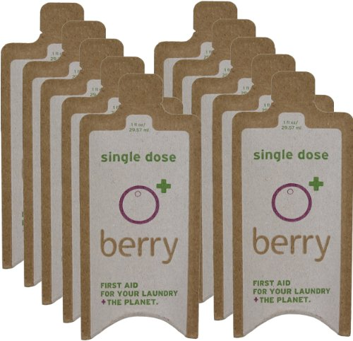 BerryPLUS Soap Berry 1-FL OZ Eco-Friendly Natural Single Load Laundry Detergent 10-Packets (Single Lewis)