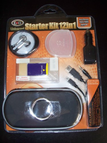 Universal Starter Kit 12 in 1 for Use with PSP