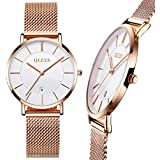 Ultra Thin Rose Gold Watch,Ladies Watches Rose...