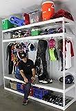 SafeRacks - Sports Equipment Organizer | 2'D x 8'W x 7'H