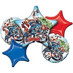 Marvel Avengers decoración de fiesta 5piezas Ramo de globos