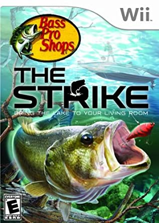 Amazon Com Bass Pro Shops The Strike Nintendo Wii Game Only Wii Video Games
