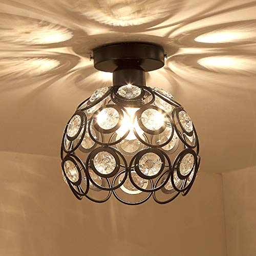 Cocal Modern Fashion Style Ceiling Lighting Flushmount Light Fixture For Bedroom Bathroom