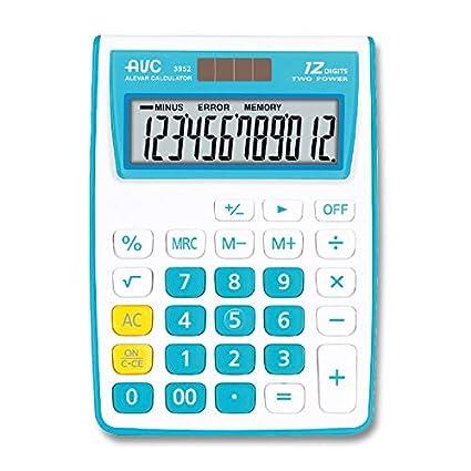 calculadora AVC 12 dígitos de mesa: Amazon.es: Oficina y papelería