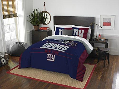 NFL New York Giants Draft Full/Queen Comforter and 2 Sham Set
