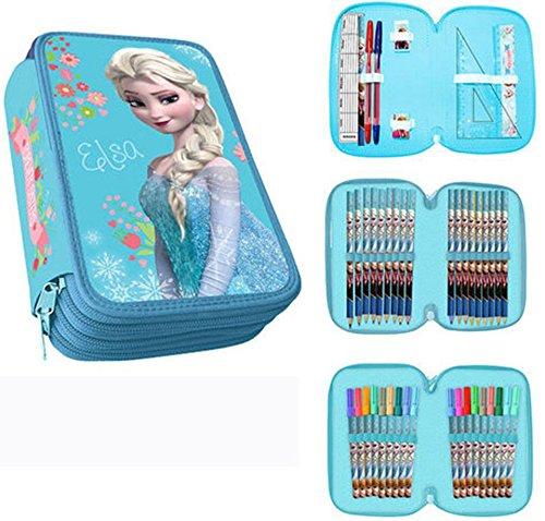 67 opinioni per Elsa Frozen astuccio tre cerniere originale Disney