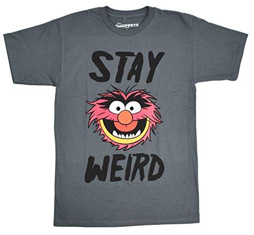 Disney Muppets Animal Stay Weird T-shirt (Muppet Halloween)