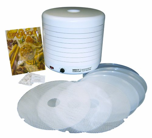 Nesco-American-Harvest-FD-1018P-1000-Watt-Food-Dehydrator-Kit