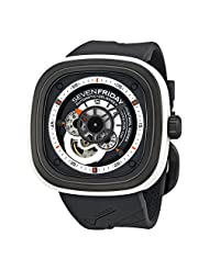 Sevenfriday Industrial Engines Grey and White Dial Automatic Mens Watch P3-3