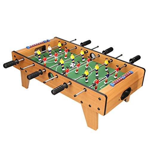 Awesome Virhuck Mini Table Top Foosball Mini Air Hockey Table And Download Free Architecture Designs Lectubocepmadebymaigaardcom