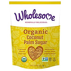 Wholesome Sweeteners, Organic Coconut Palm Sugar, 16 Ounce