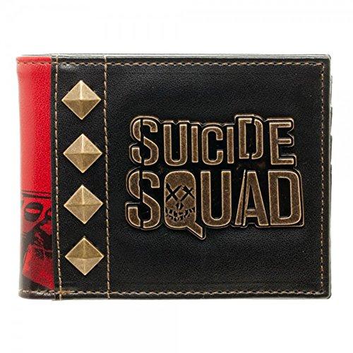 DC Comics Suicide Squad Harley Quinn Metal Logo Bi-Fold (Halloween Happy Hour Dc)