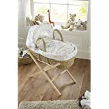 Clair de Lune Sleep Tight Palm Moses Basket