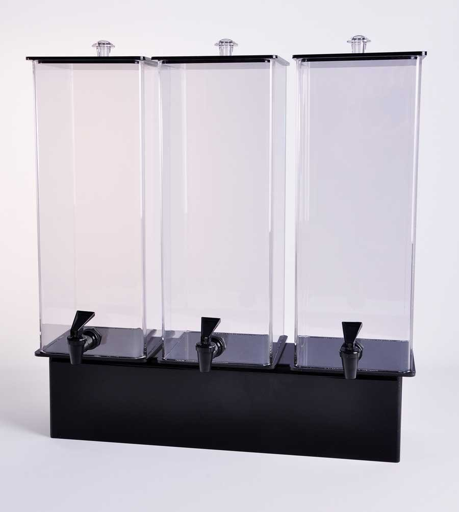 Two Gallon Acrylic Drink Dispensers with Spigot
