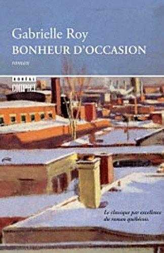 """""""Bonheur d'occasion [nouvelle �dition]"""" av Gabrielle Roy"""