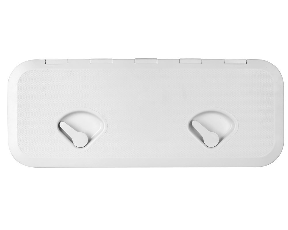 SEAFLO MARINE BOAT DECK ACCESS HATCH & LID 23.9'' X 13.9'' - WHITE 606mm x 353mm by Seaflo