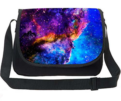 CARBEEN Canvas Printing Universe Space TrendyMax Galaxy Pattern Shoulder Bag (Print Canvas Cross Body)