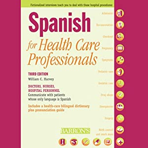 Spanish for Health Care Professionals Audiobook