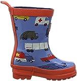 Hatley Boys' Little Rush Hour Rain Boots, 11 US Child