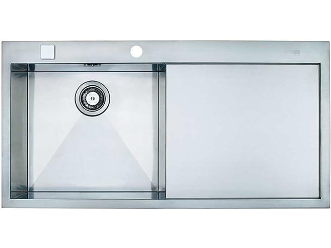 Vasca Da Bagno Filo Piano : Franke 1270197845 planar ppx 211 lavabo da cucina in acciaio inox