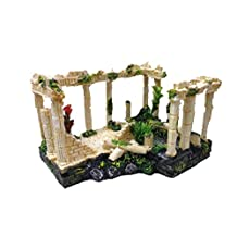Fixture Displays Ancient Ruins Ornament for Aquarium Fish Tank Decoration 12184 12184