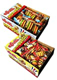 gummy hot dogs - E Frutti Gummy Hamburger and Hot Dog Variety Pack of 120