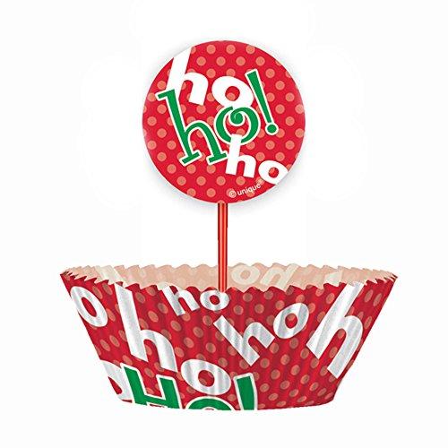 Ho Christmas Cupcake Kit 24