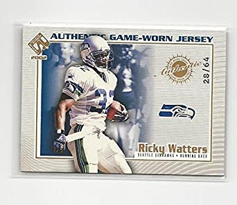 Amazon.com  2002 Private Stock Ricky Watters  113 NM MEM 28 64 ... 9be844c46