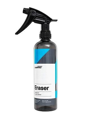 CarPro Eraser 2014 500 ML (eliminador de restos de pulimento, limpiacristales): Amazon.es: Coche y moto