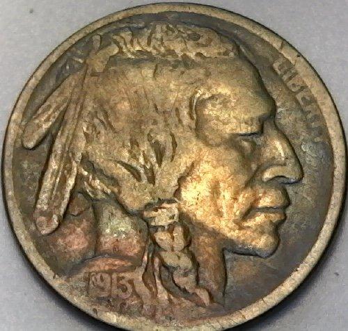 Buffalo 1913 (1913 S Buffalo Type I First Year Of Buffalo Nickel Very Good)