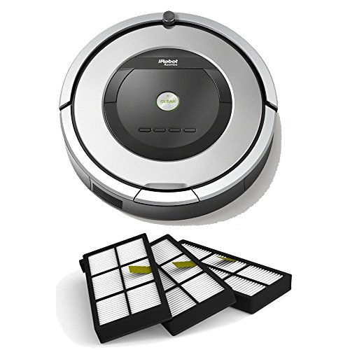 iRobot Roomba 860 Robotic Vacuum Cleaner (Vacuum + AeroForce Filters)
