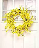 Cheap Rustic Porch Collection 26″ Forsythia Wreath