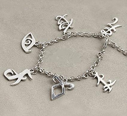 Amazon City Of Bones Shadowhunters Rune Bracelet Angelic