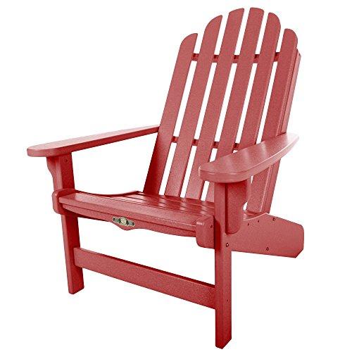 Original Pawleys Island DWAC1RD Durawood Essentials Adirondack Chair, Red For Sale
