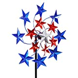 Exhart Star Spangled Wind Spinner - Pinwheels