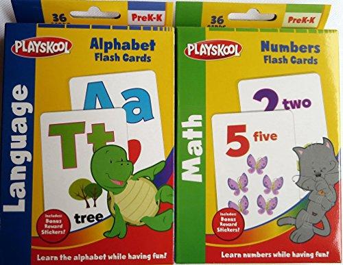 Playskool Alphabet and Numbers Flash Cards